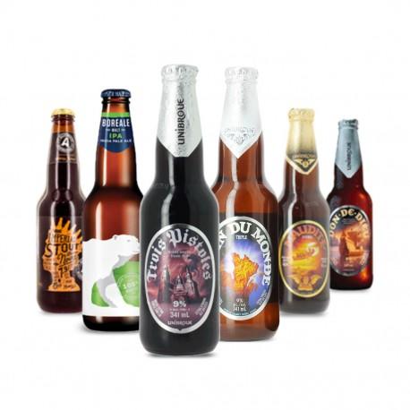 Sélection des meilleures bières du Québec