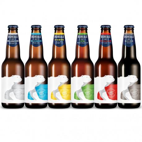 Pack de 6 bières Boréale