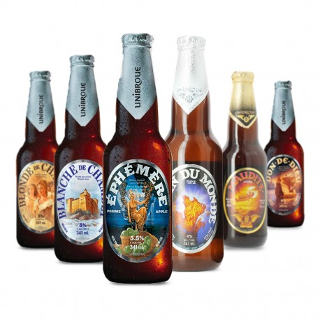 Pack de 6 bières Unibroue
