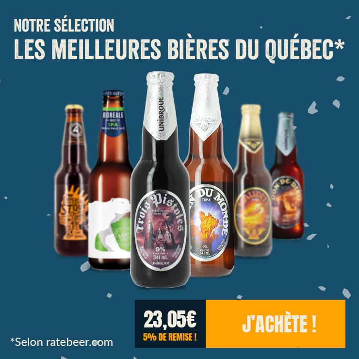 La sélection des meilleures bières du Québec